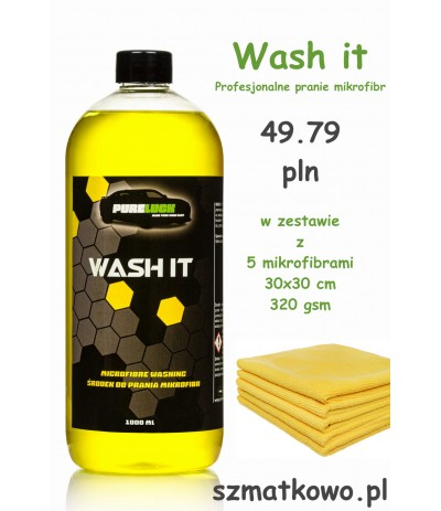 Wash It 1000ml + 5 szt mikrofibra