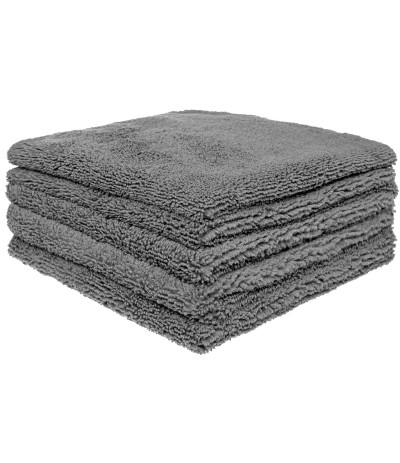 Mikrofibra szara ręcznik  40 / 320GSM  - 5 SZT