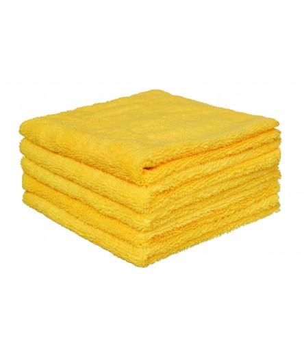 Mikrofibra żółta do wosku 40 / 320GSM  - 5 SZT